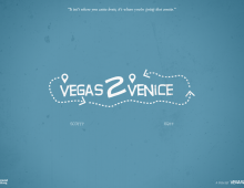 Get the car started, vegas2venice is fully funded!