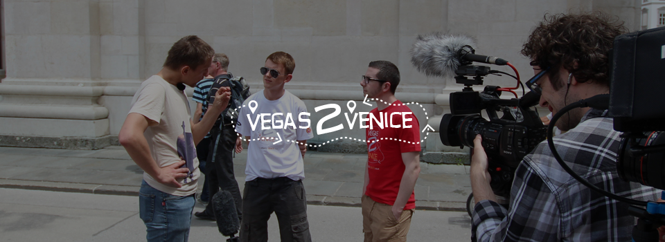 Vegas2venice Documentary Slide